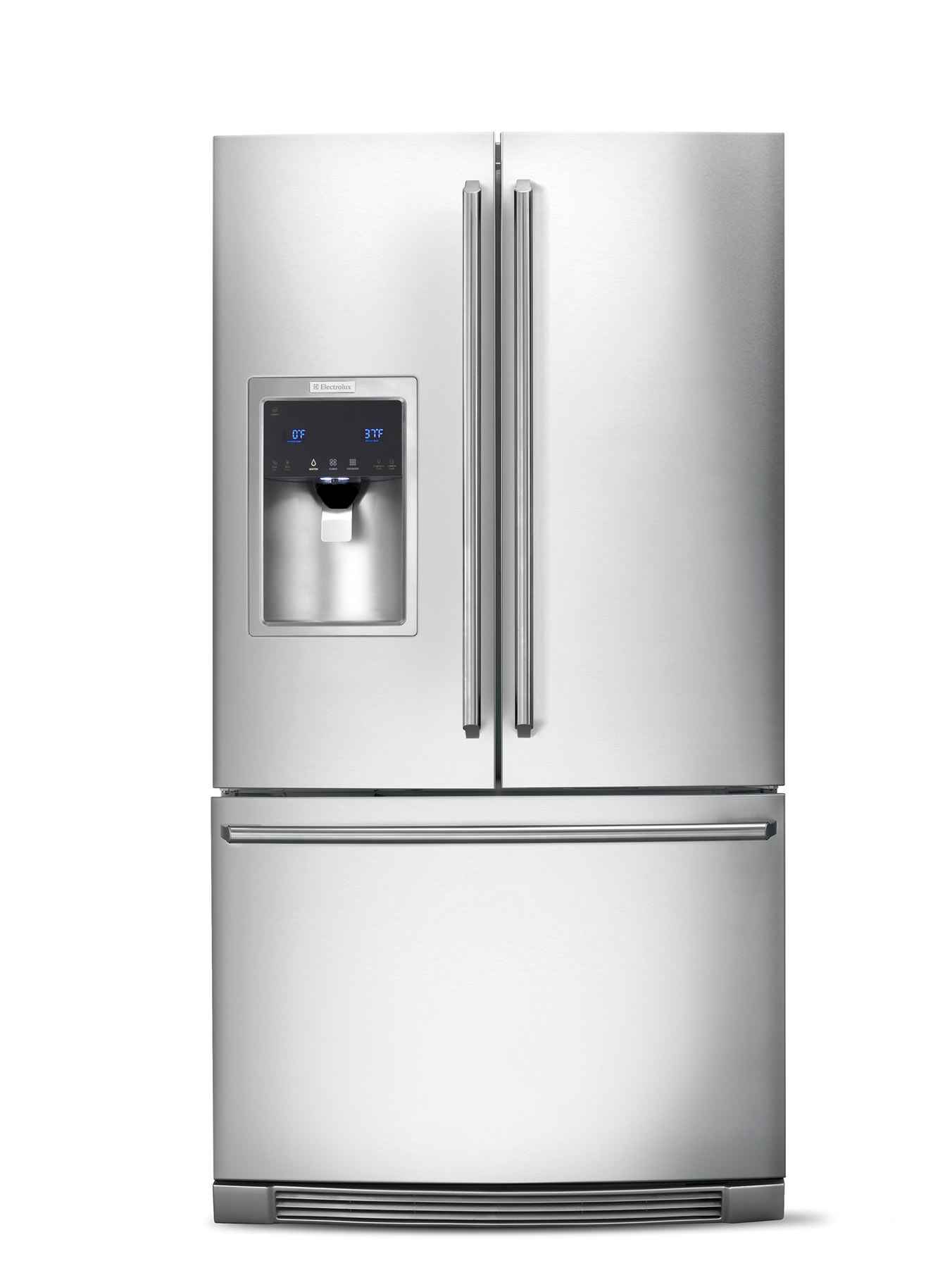 French door Electrolux kitchen refrigerator