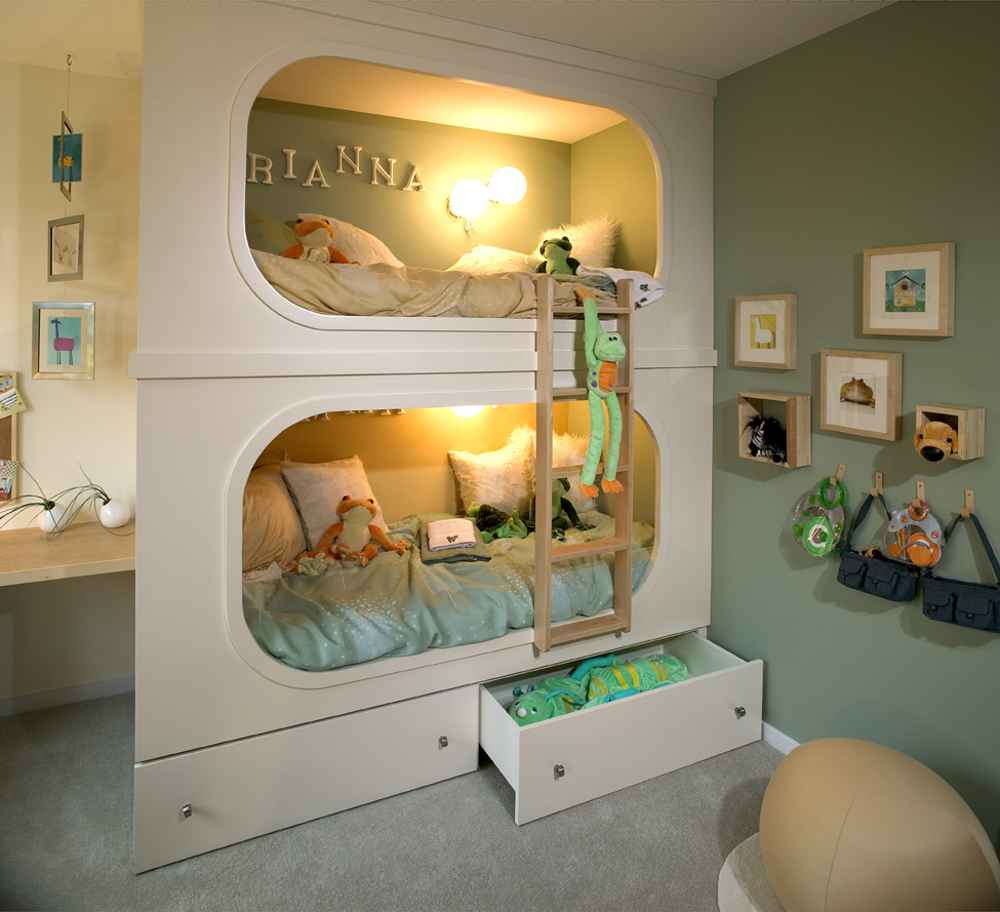 Unique kids beds feel the home for Cool furniture for kids