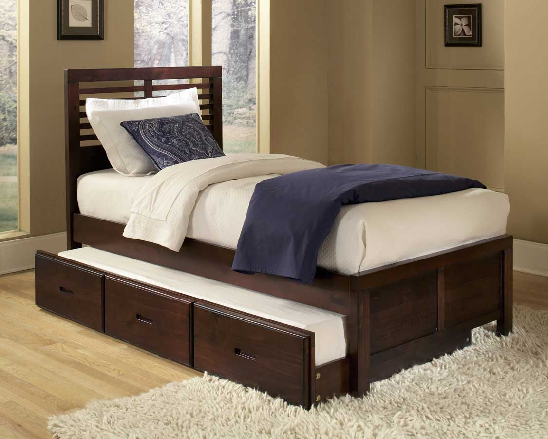 Trundle bed conversion to king size for Classic beds for sale