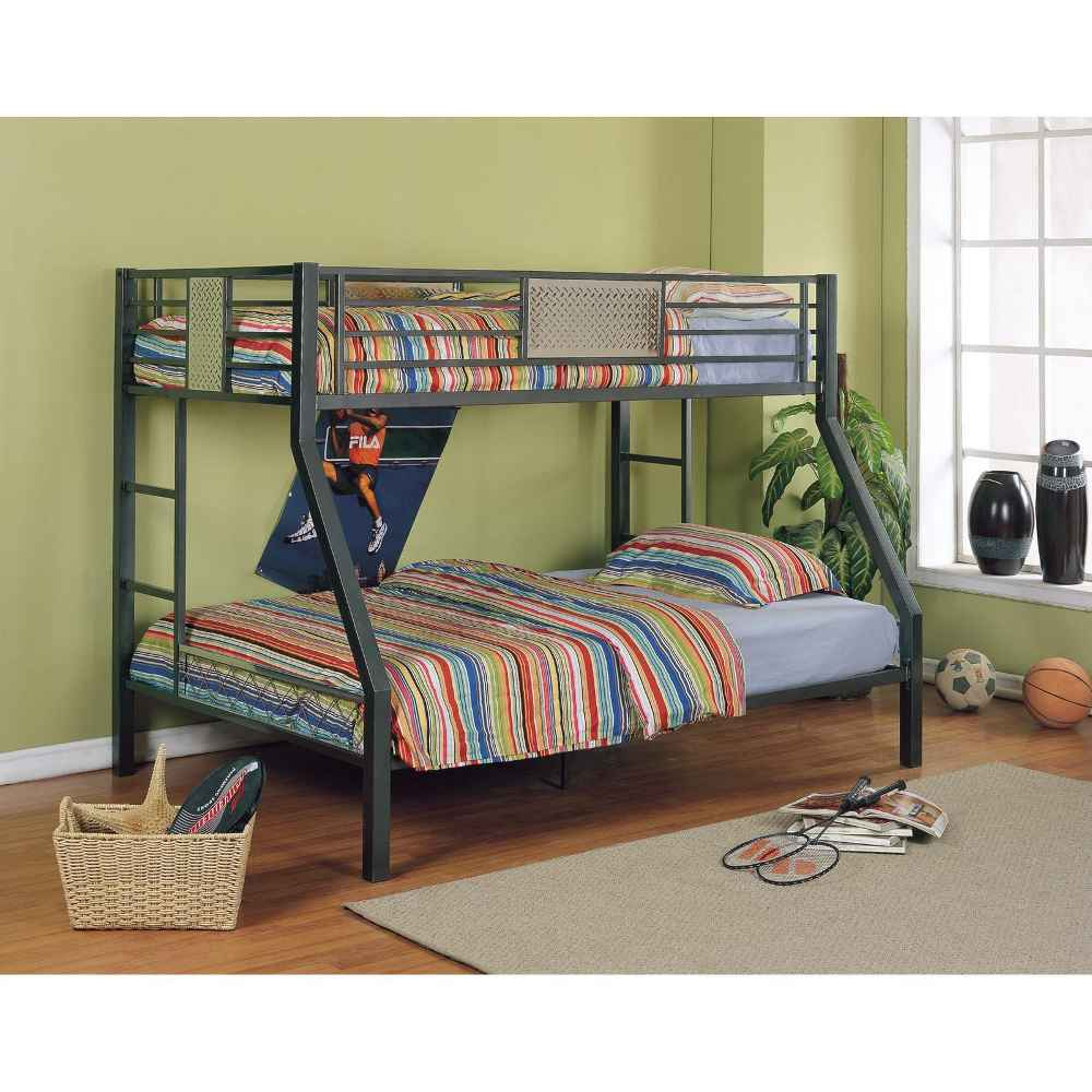 Powell Monster Teen Bunk Bed for Twins
