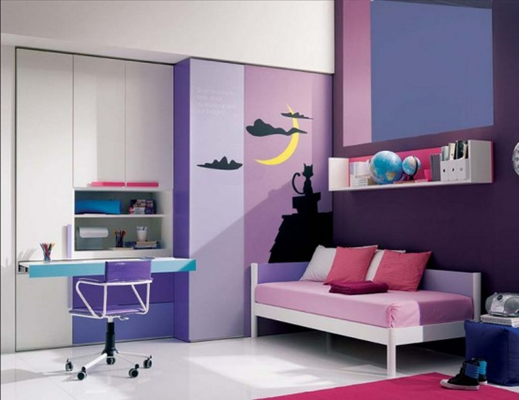 Simple Teenage Bedrooms Decorating Ideas