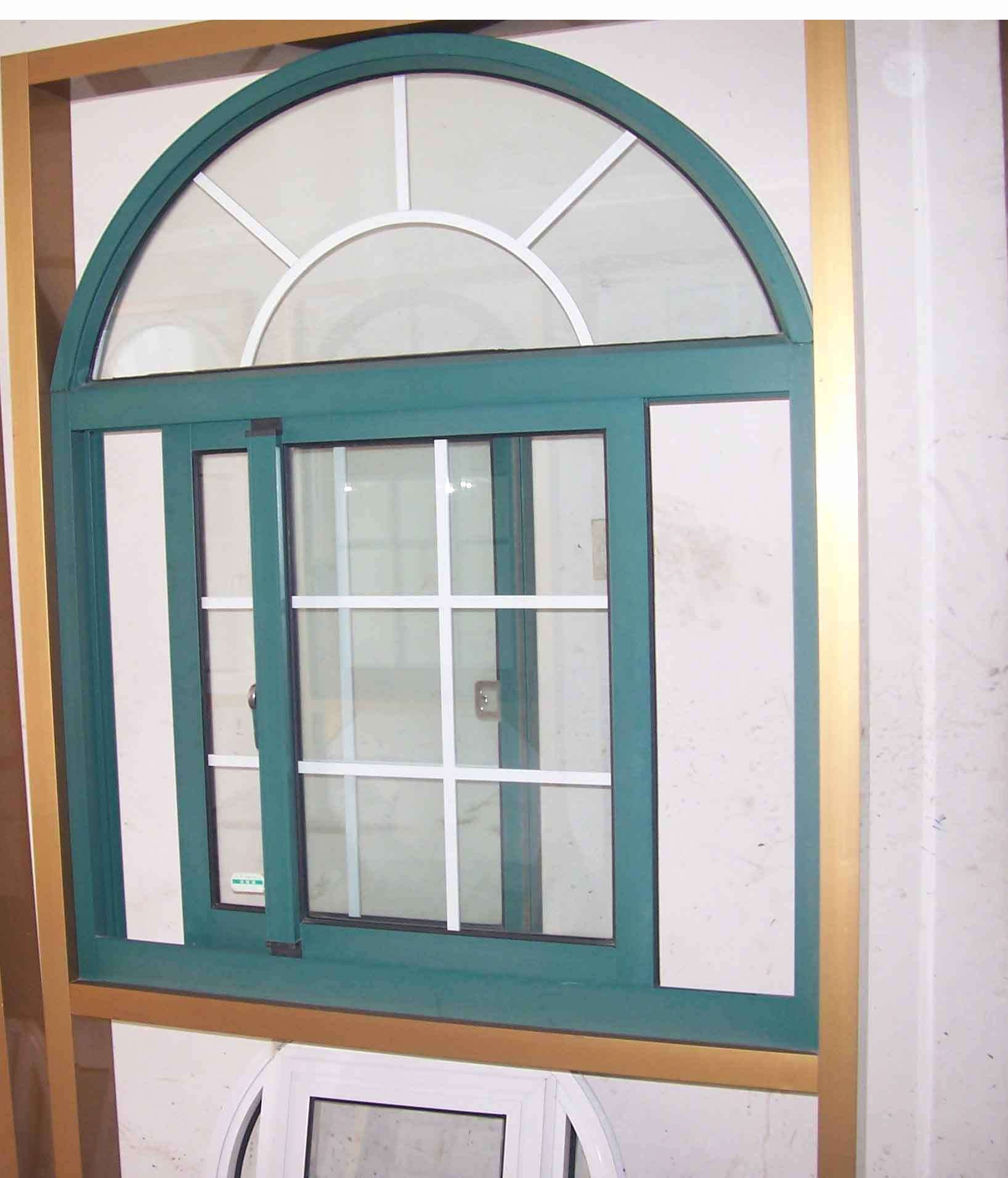French type aluminum window for home for Energy saving windows