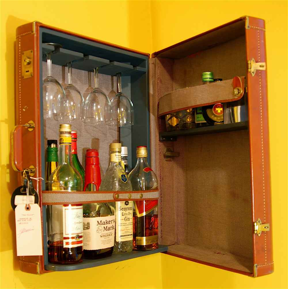 essential liquor cabinet