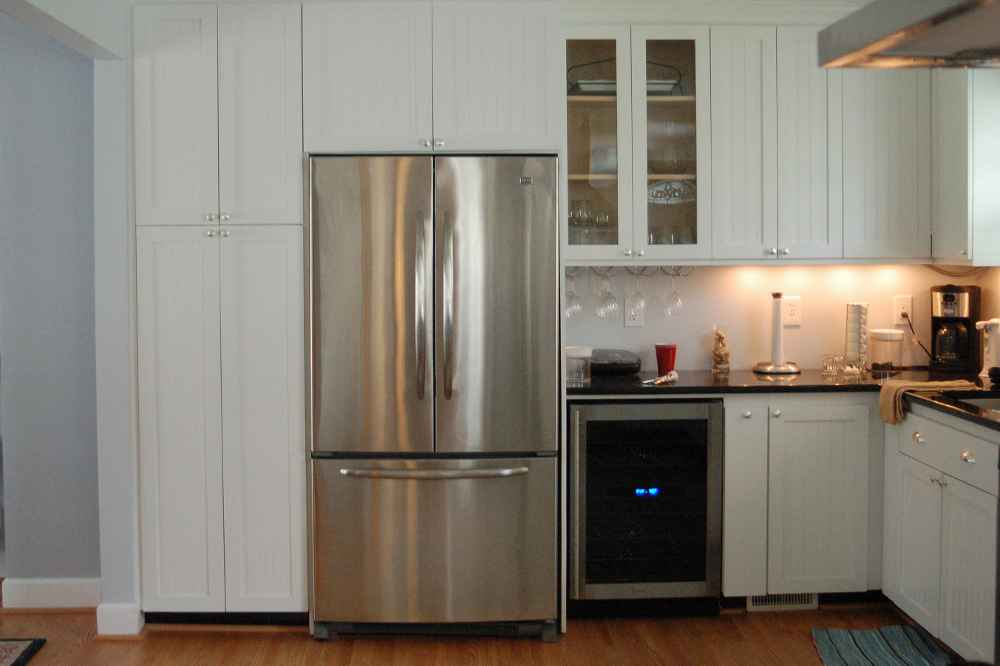 Refrigerator Kitchen Cabinets Feel The Home