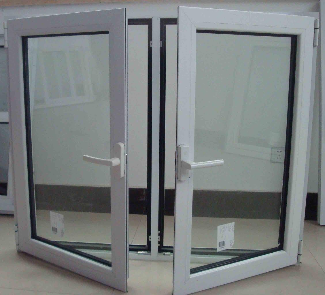 French type aluminum window for home for Double casement windows