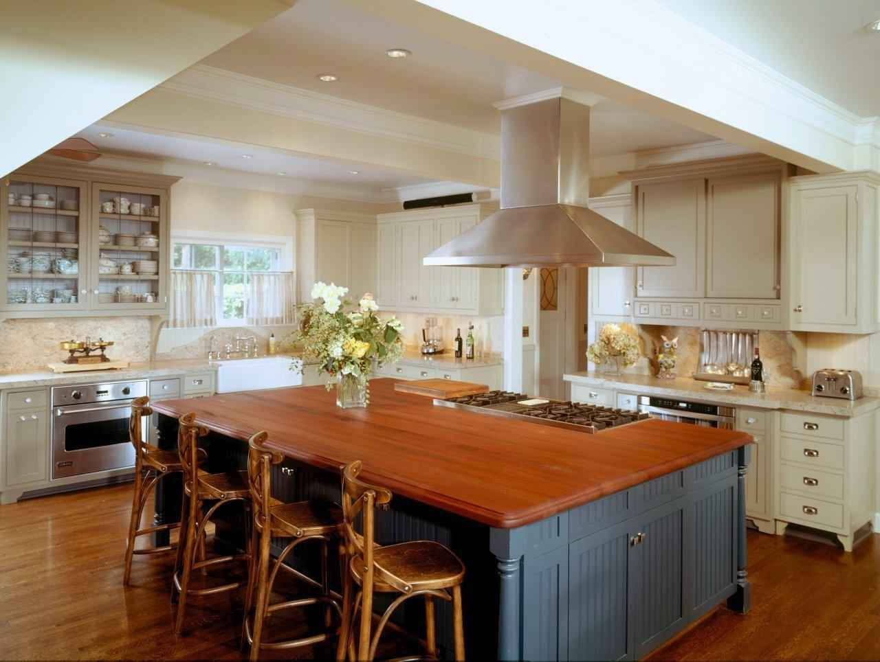 Inexpensive countertop ideas for your kitchens for Kitchen countertop designs ideas