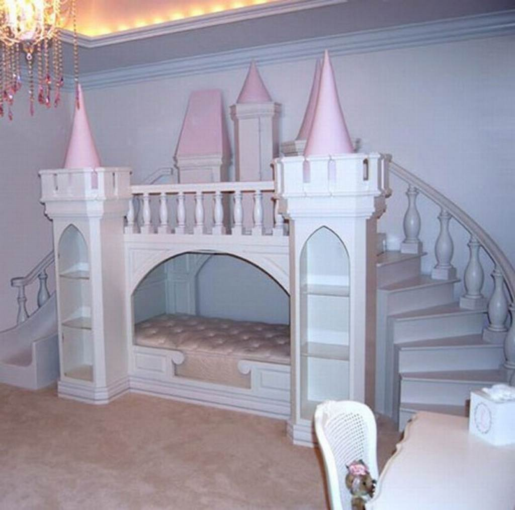 Princess Castle Bed Plans For Girls | Feel The Home