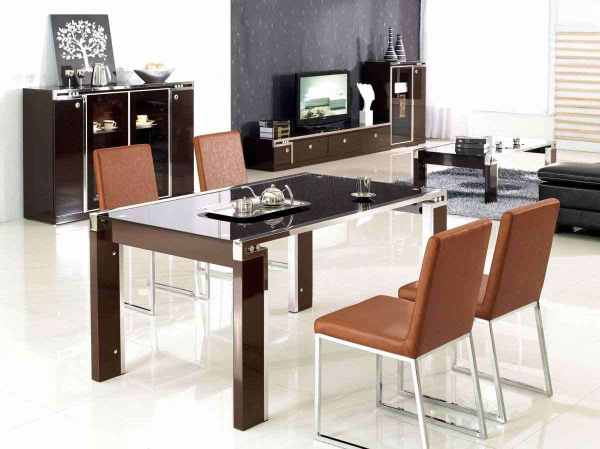 Living dining room desk and chair set