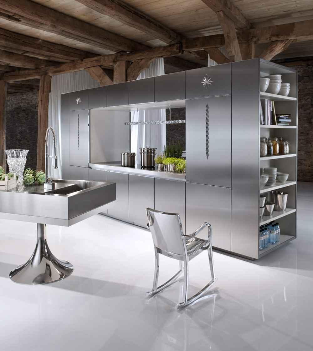 Modern Steel Cabinet for Home Kitchen