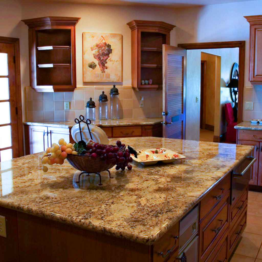 Laminate countertops feel the home for Kitchen counter decor