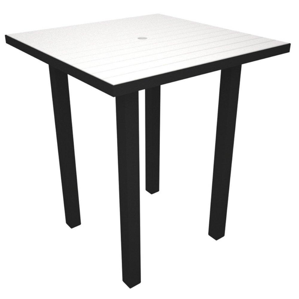 Polywood Euro Black Plastic Desk