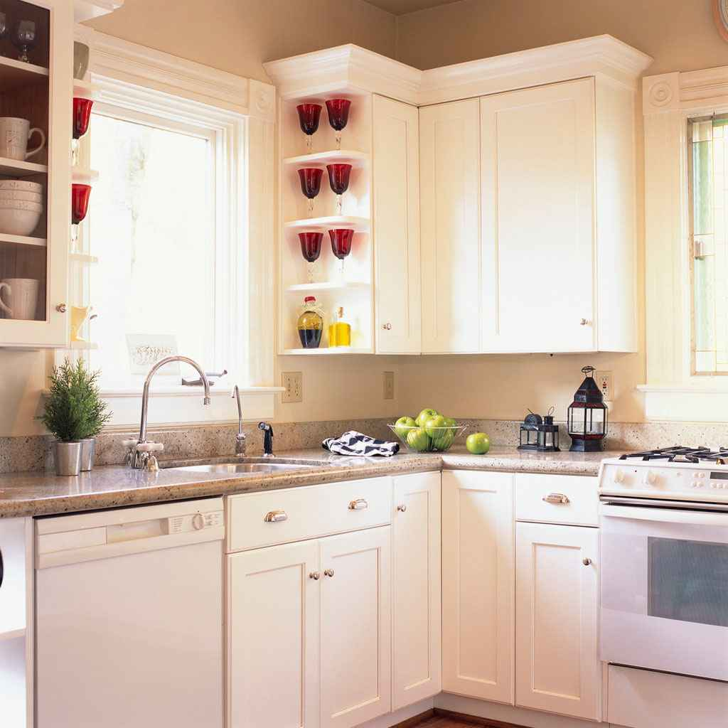 Laminate countertops feel the home for Budget kitchen cabinets