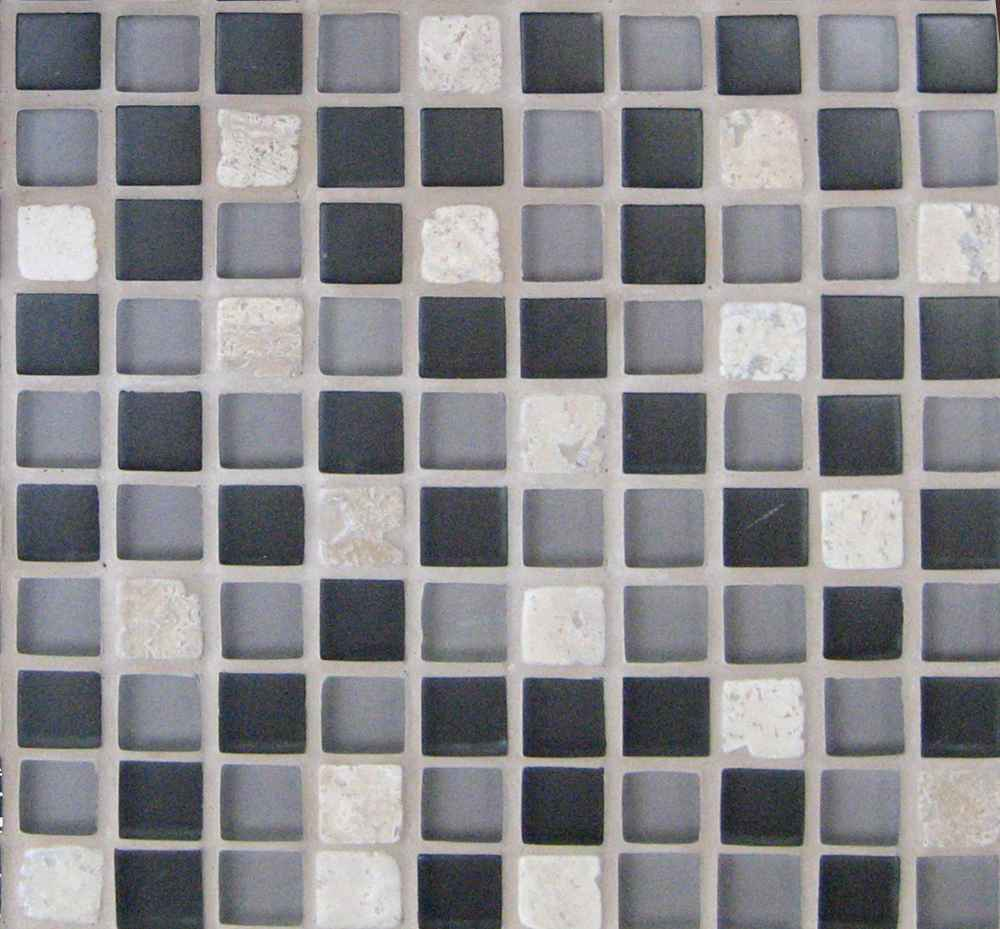Bathroom Ceramic Tile in Cubicle Texture