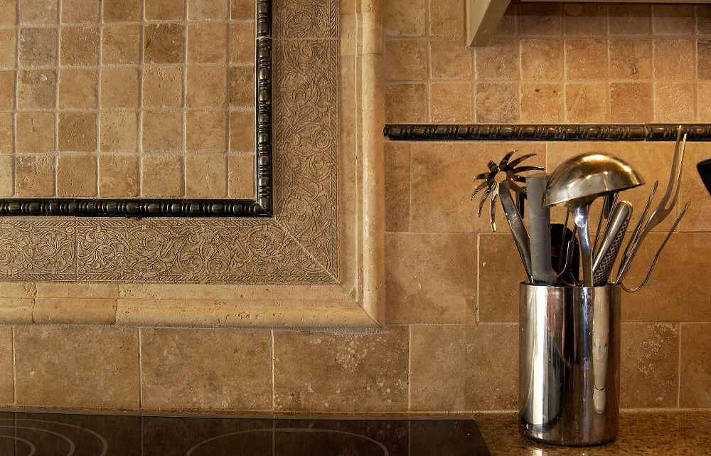 kitchen backsplash design ideas with sink pictures to pin on pinterest