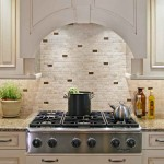 Clear White Laminated Kitchen Backsplash Ideas Design