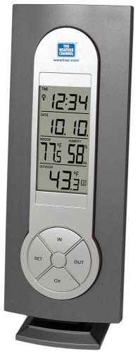La Crosse Technology WS-7215U-IT Wireless Weather Station, In Humidty & Outside Temperature