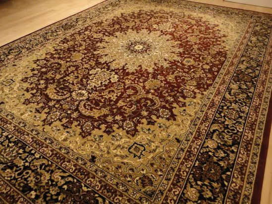 Red Persian Style 8x11 Oriental Area Rug 8x10 Carpet Tabriz Design Rugs