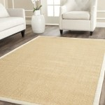 Safavieh Natural Fiber Collection NF441K Handmade Maize and Wheat Sisal Area Rug, 9 feet by 12 feet (9