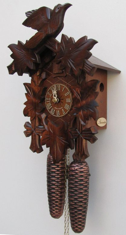 Sternreiter - German Hand Carved Cuckoo Clock with Eight-day Movement