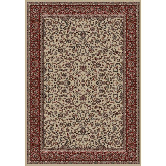 "Treasures Collection- Antique Persian Style Rug IVORY 6'7""X9'6"" IVORY Style- 2"