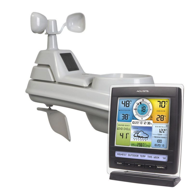 AcuRite 01512 Pro Color Weather Station, Full Color