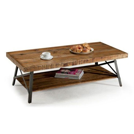 Aspira Home T100-0 Bedford Cocktail Table, Wood
