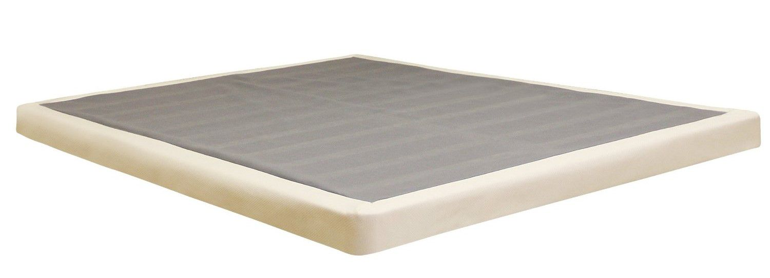 Classic Brands Low Profile Foundation Box Spring, 4-Inch, Queen