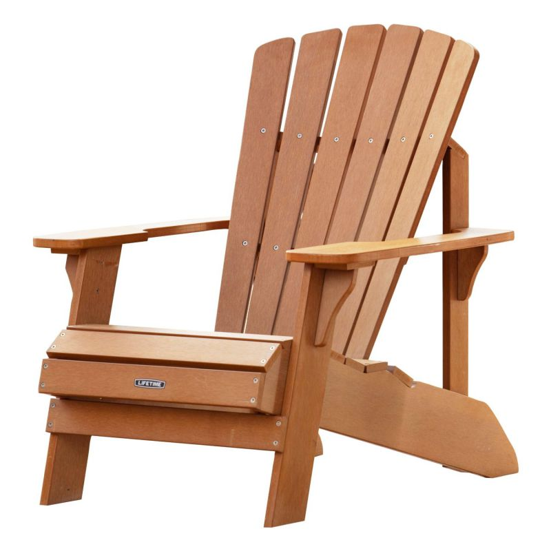 lifetime adirondack chair with ottoman chaise longue feel the home. Black Bedroom Furniture Sets. Home Design Ideas