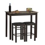 Linon Tavern Collection 3-Piece Table Set