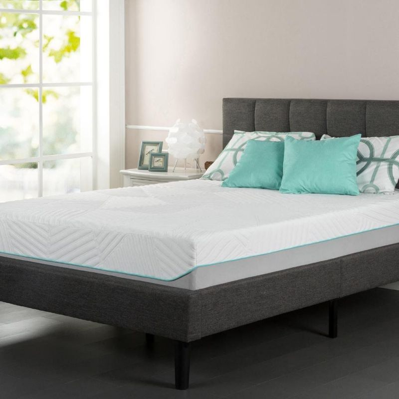 Sleep Master iCoil 10 Inch Spring and Gel Memory Foam Hybrid Mattress, Full