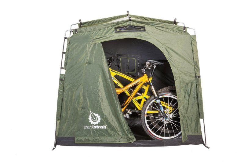 bike storage shed by yardstash solution. Black Bedroom Furniture Sets. Home Design Ideas