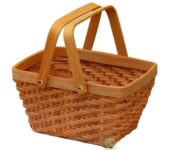 Vintiquewise(TM) QI003056 Rectangular Chip Picnic Basket
