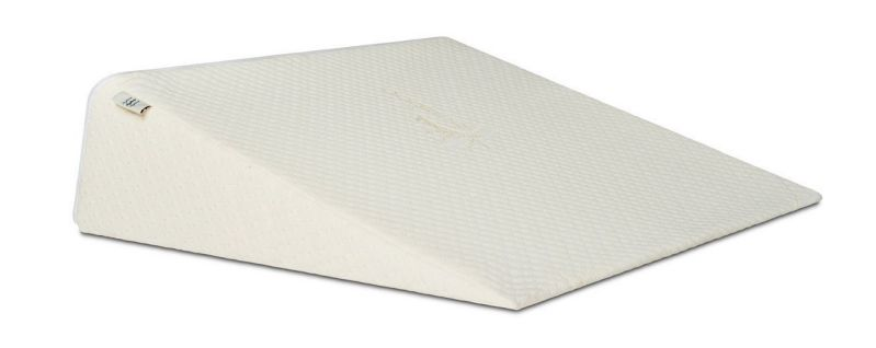 Brentwood Home Zuma Therapeutic Foam Wedge Pillow, Made in USA, 10-inch