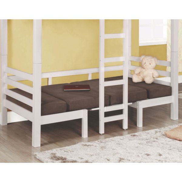 Coaster Home Furnishings Casual Bunk Bed, Chocolate