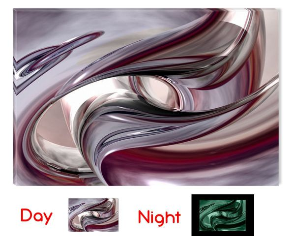 Startonight Wall Art Canvas Abstract Destiny Love, Abstract USA Design for Home Decor, Dual View Surprise Artwork Modern Framed Ready to Hang Wall Art 23.62 X 35.43 Inch 100% Original Art Painting!
