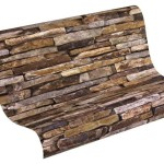 A.S. Creation 9142-17 Wood and Stone Natural Wallpaper
