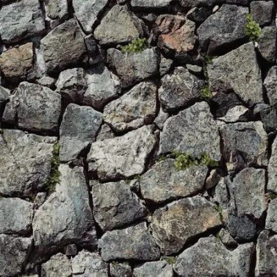 Blooming Wall Stone Bricks Wallpaper Nature for Walls Home Decoration Wallpaper for Livingroom Bedroom,57 Sq. Ft/roll