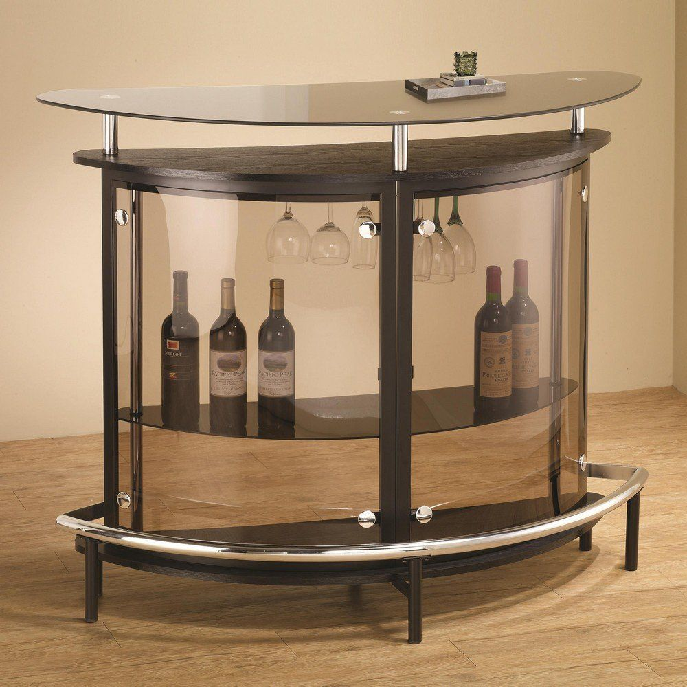 Coaster Bar Table-Black