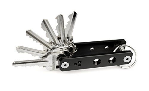 K-Addict by CINEIK V1 Key Holder Organizer System (Black Anodized) 1-51 keys + Build Kit