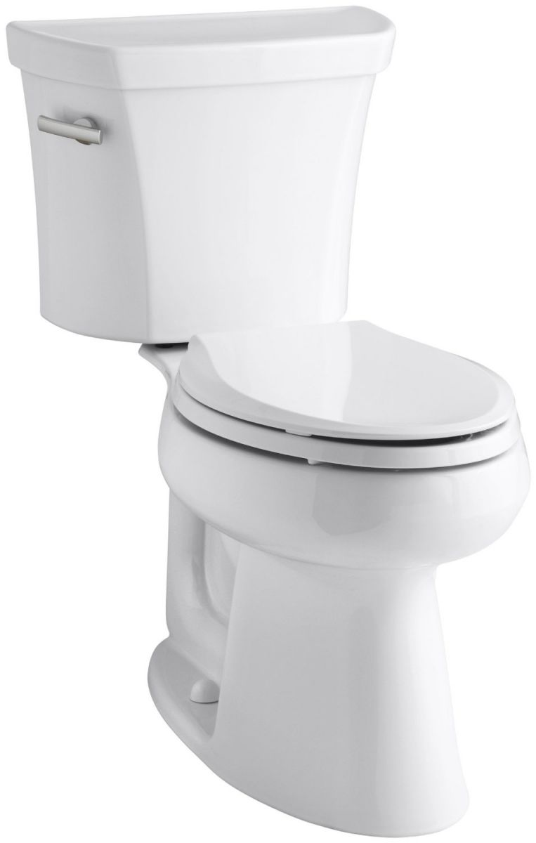 Kohler K-3979-0 Highline Comfort Height 1.6 gpf Toilet, White