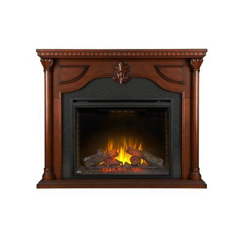 "Napoleon NEFP40-0714C The Aden Mantel Package Comes with 40"" Firebox"