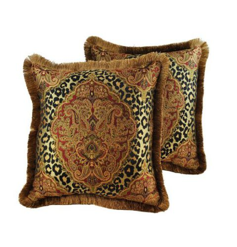 Sherry Kline 20-inch Tangiers Decorative Pillow (Set of 2)