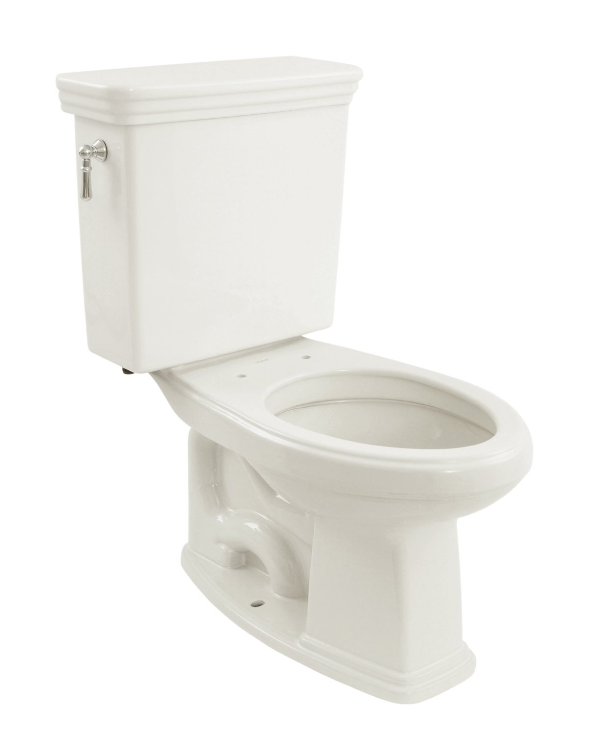 TOTO CST424EFG#01 Promenade E-Max Elongated Bowl and Tank Universal Height, Cotton White
