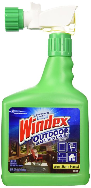 Windex Outdoor Glass & Patio Cleaner, 32oz