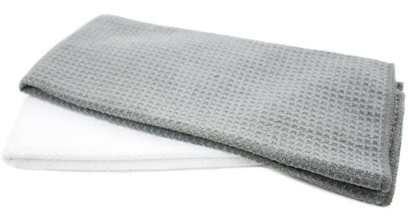 Zwipes Microfiber Kitchen Dish Towels and Cleaning Cloths, 2 Count