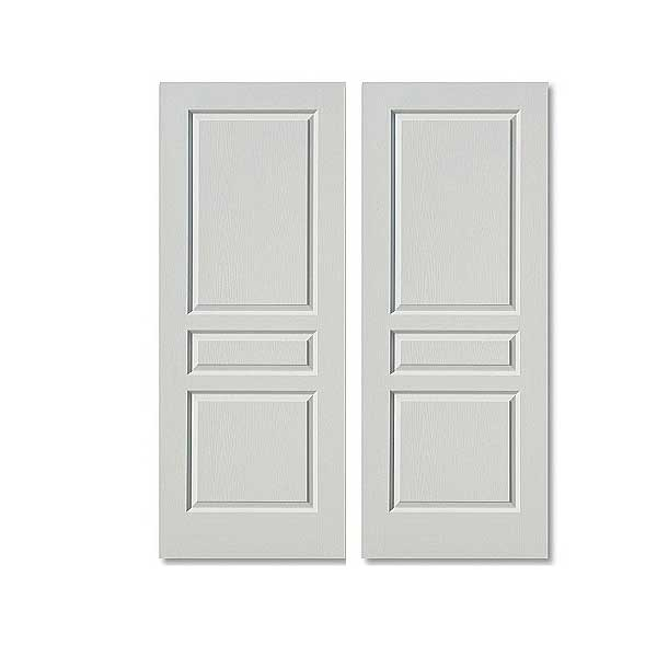 Contemporary internal white doors with two panels