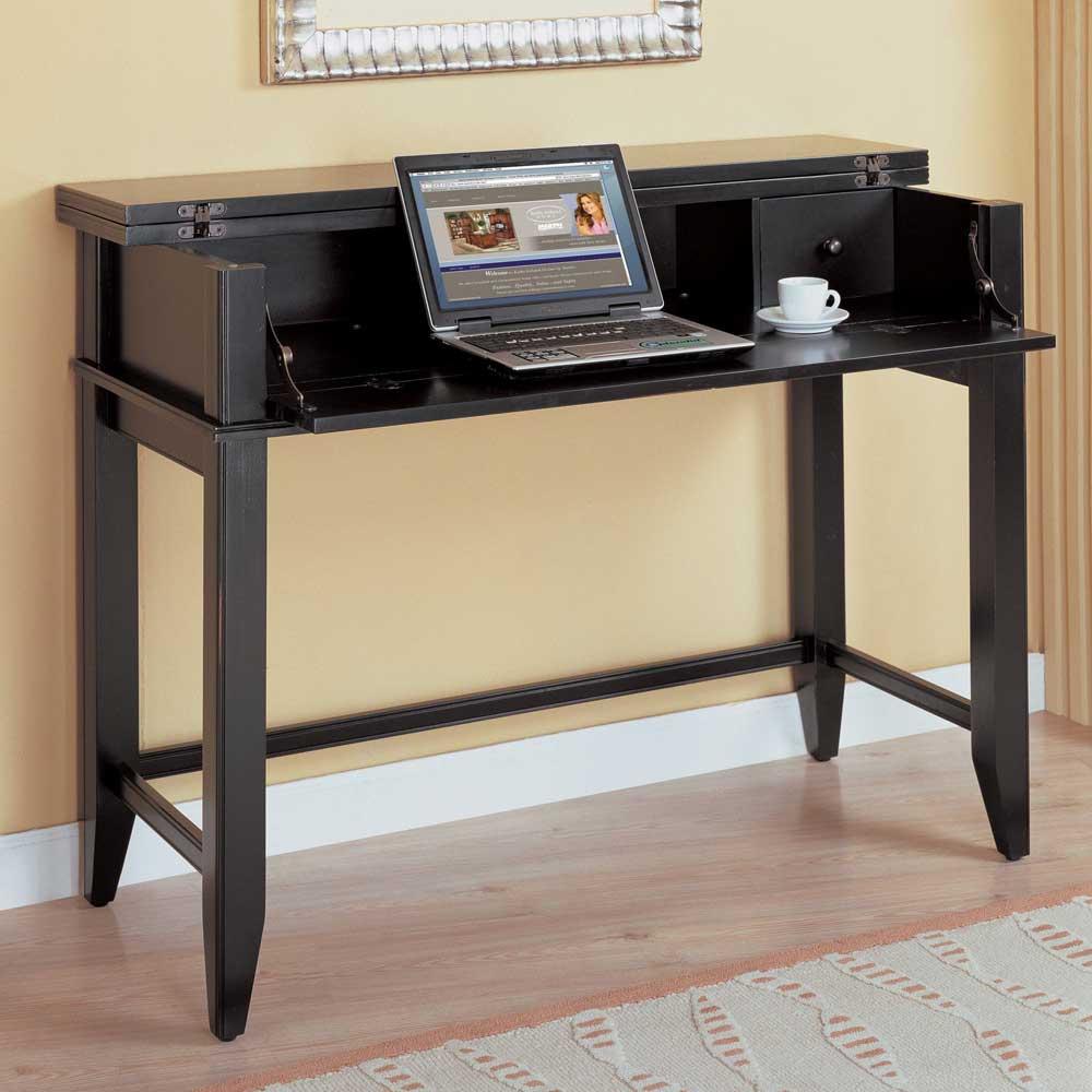 Kathy Ireland Tribeca black writing desks for home
