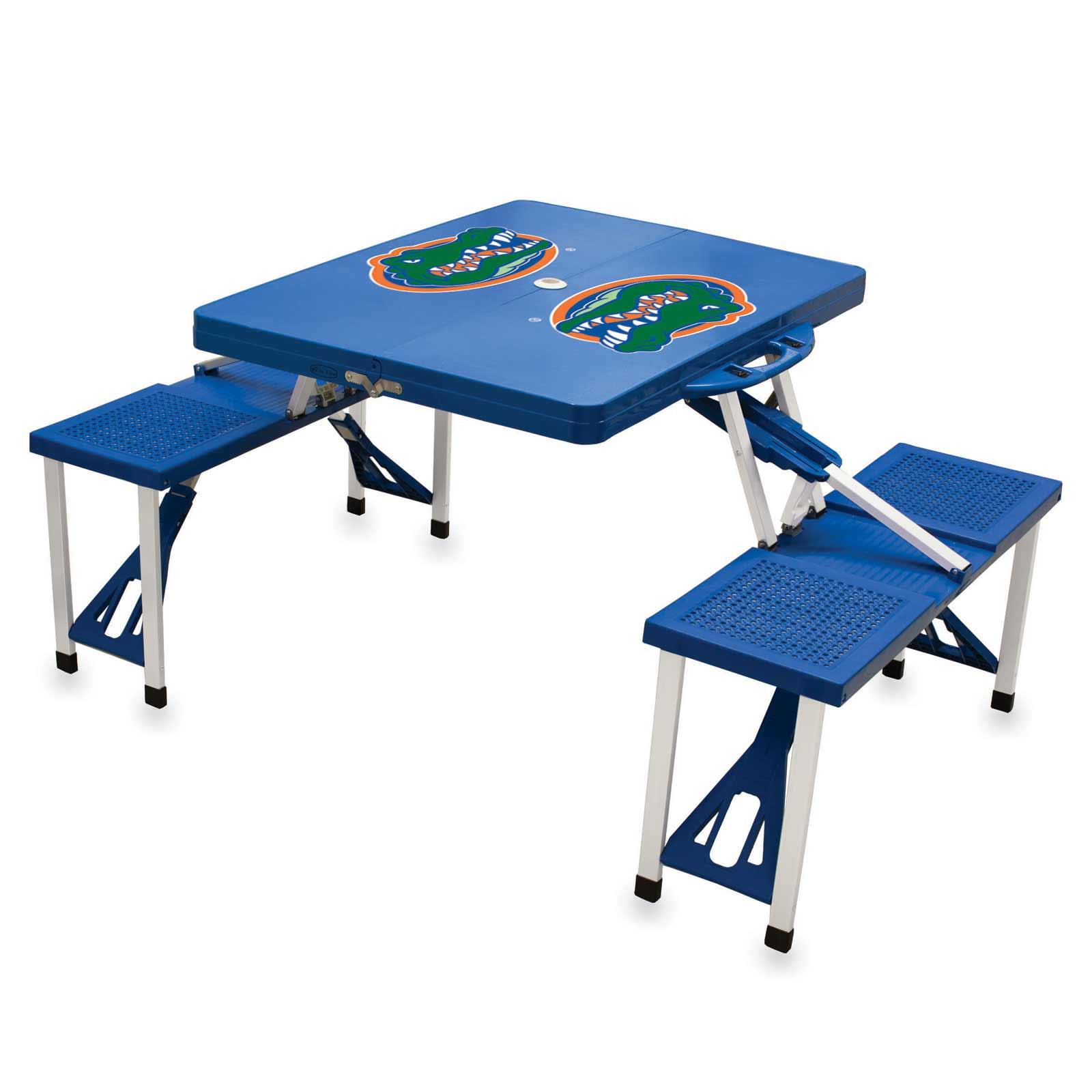 Blue Folding Picnic Table from Florida Gators