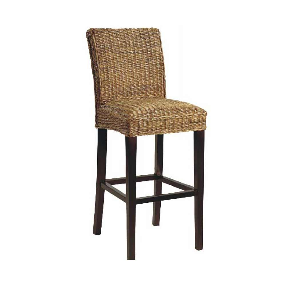 Classic Tall Home Bar Chairs with Mid Back