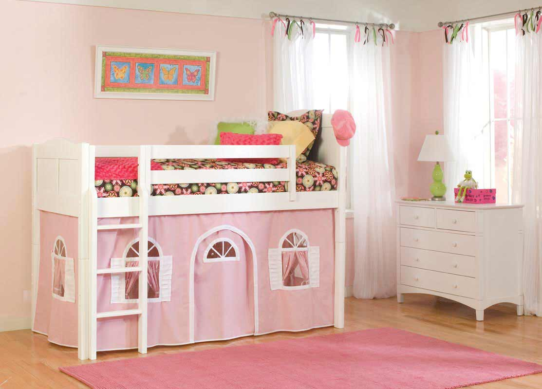 Cottage bed tents for twin beds for girls